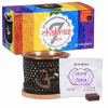 Aromafume 7 Chakra: Diffuseur d'encens exotique Om + 2 x 7 briques d'encens Chakra
