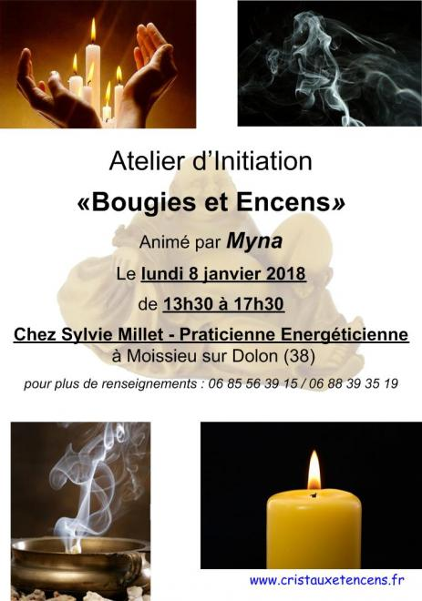 Affiche ateliers bougies encens 08 01 2018