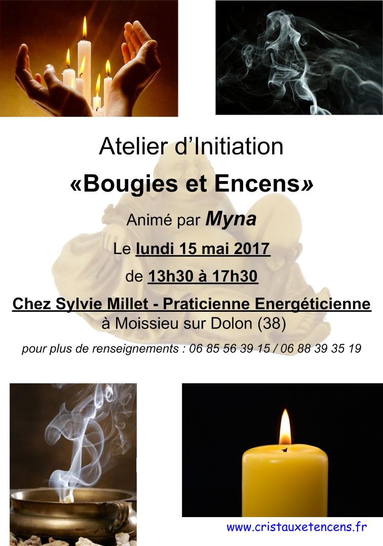 Affiche ateliers bougies encens 15 05 2017