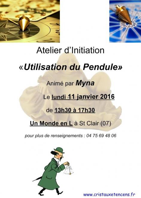 Affiche ateliers pendules 11 01 2016