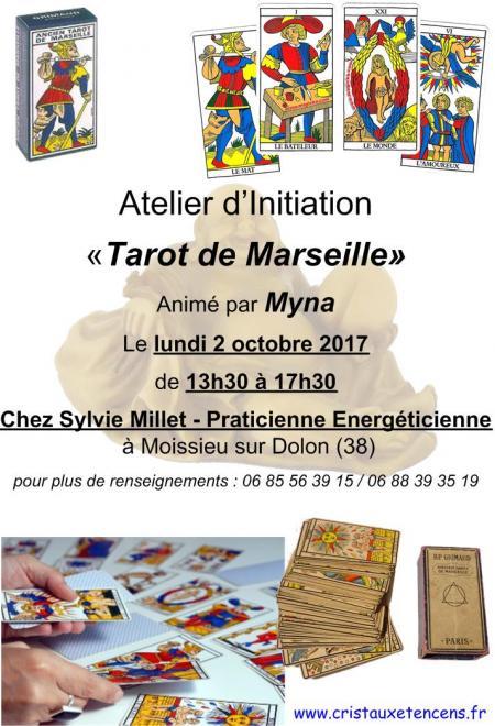 Affiche ateliers tarot marseille 02 10 2017