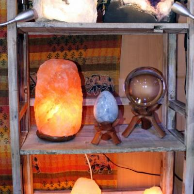 Les lampes de sel et géodes