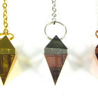 Pendule double pyramide