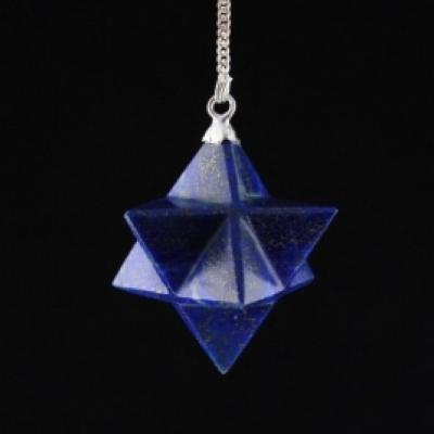 Pendule Merkaba Lapis Lazuli
