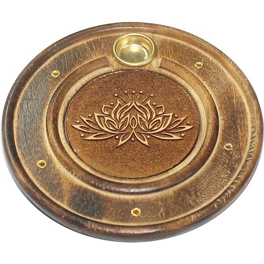 Porte encens Lotus