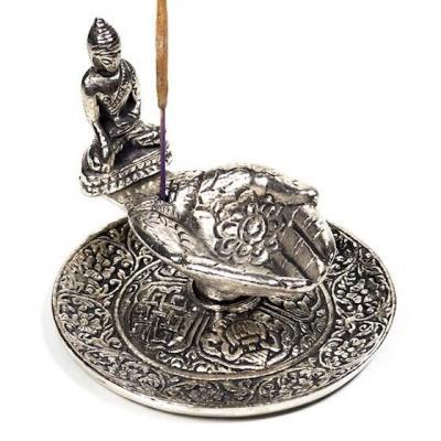 Porte Encens mains offertes Bouddha
