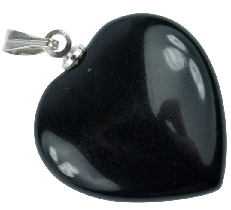 Coeur Onyx noir