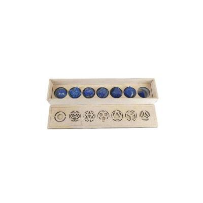 Solides de Platon Lapis Lazuli (7)