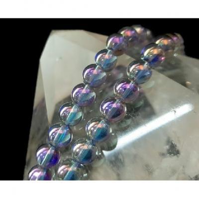 Bracelet Aqua Aura Titane 8 mm