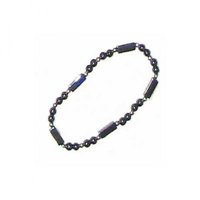 Bracelet Hématite et perles