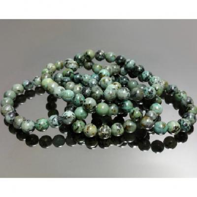 Bracelet Turquoise Africaine 8 mm