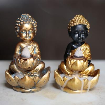 Brûleur d'Encens  à Reflux - Bouddha & Lotus