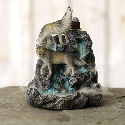 Brûleur d'Encens  à Reflux - Le Loup des montagnes