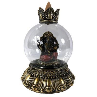 Brûleur d'Encens à Reflux - Globe de Ganesh