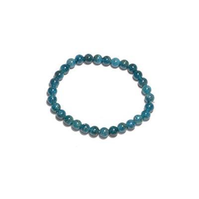 Bracelet Apatite Bleue 8 mm