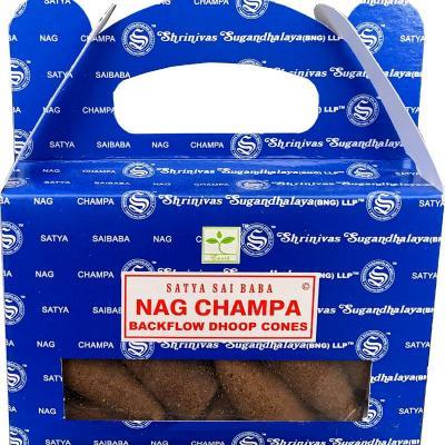 Satya Backflow Nag Champa.