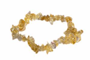 Bracelet Citrine (améthyste chauffée)