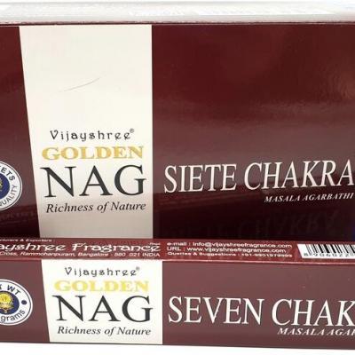 Nag - 7 chakras