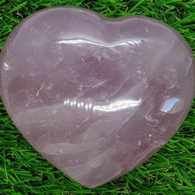Coeur Quartz Rose  465 g