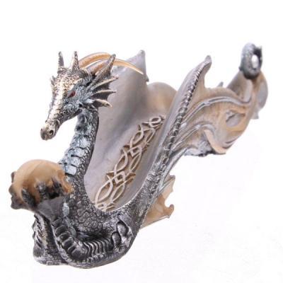 Porte Encens Dragon miroitant