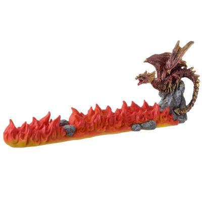 Porte - Encens - Volcan du Dragon rouge