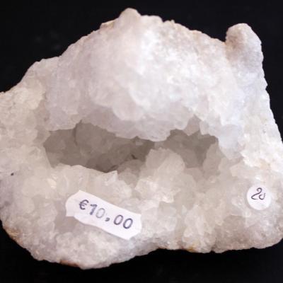 Géode  Cristal de Roche (20) 517 g