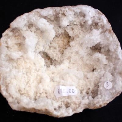 Géode  Cristal de Roche (3) 747 g