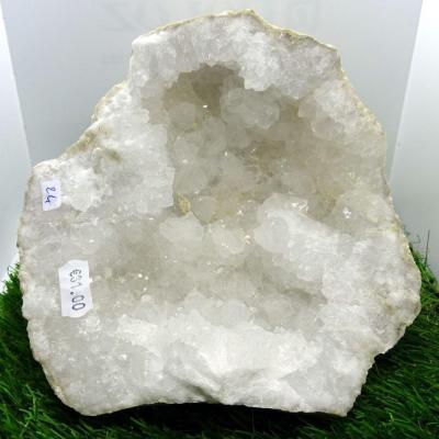 Géode  Cristal de Roche (24) 1.450  kg