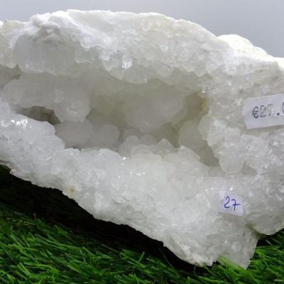 Géode  Cristal de Roche (27) 2.125  kg