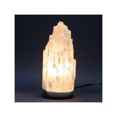 Lampe en Sélénite 22 cm