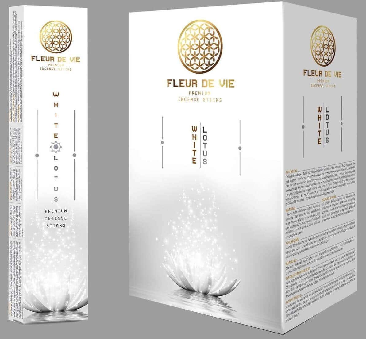 Lotus Blanc - Fleur de Vie