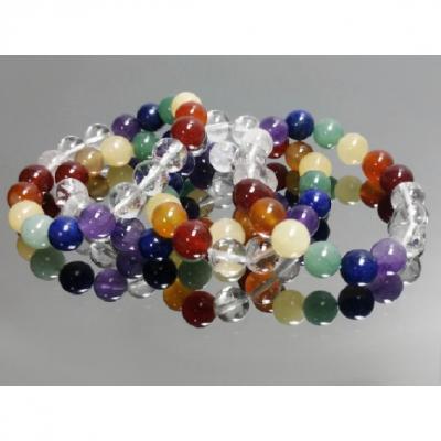 Bracelet 7 chakras 10 MM