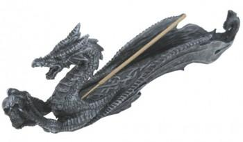 Porte-Encens Dragon - Noir