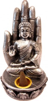 Porte encens Bouddha assis
