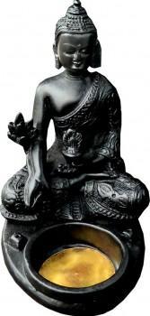 Porte Encens + bougeoir Bouddha