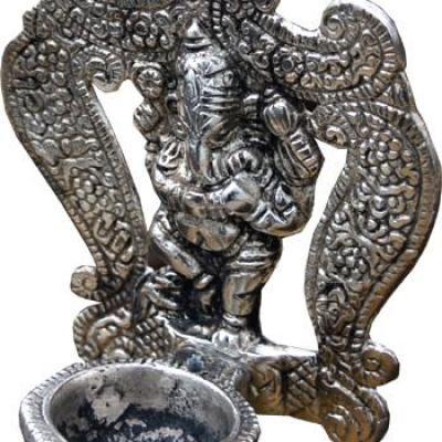 Porte Encens métal Ganesh