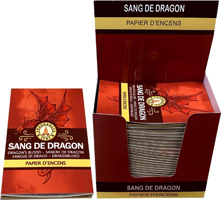 Papier d'encens - Sang du Dragon