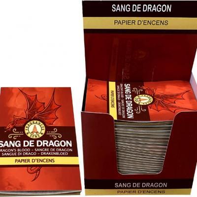 Papier d'encens Sang du dragon