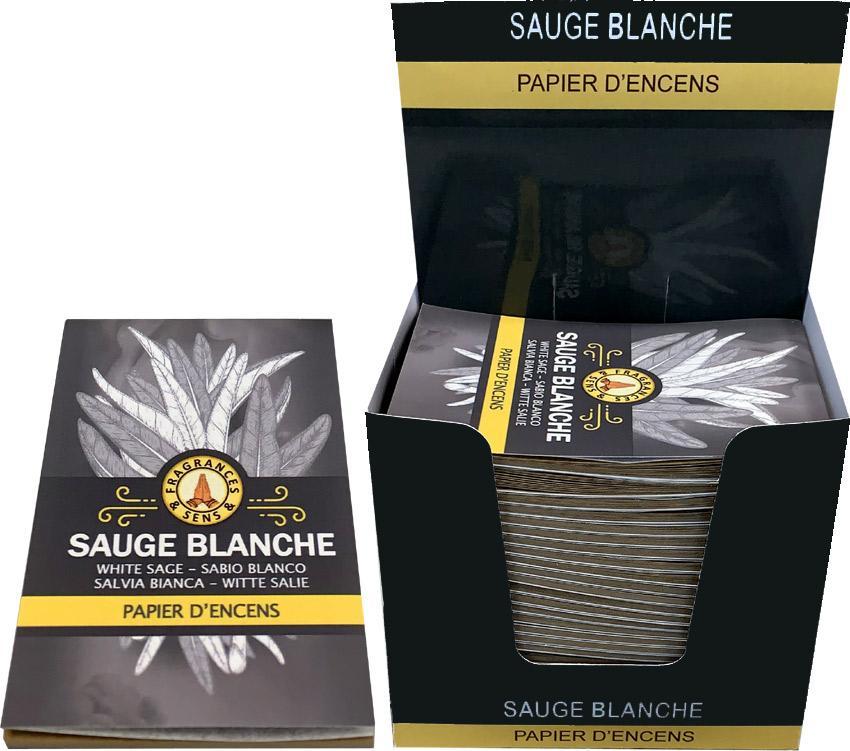 Papier d'encens - Sauge Blanche