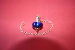 Pendule Melissium bleu