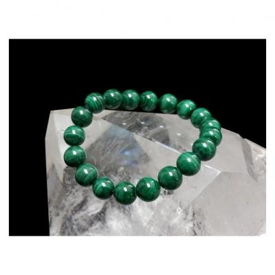 Bracelet Malachite 10 mm