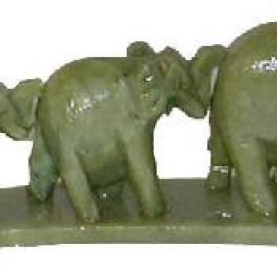 Porte Encens 3 éléphants