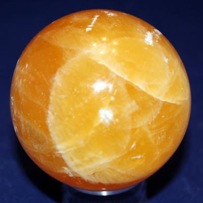 Sphère Calcite orange  (1)