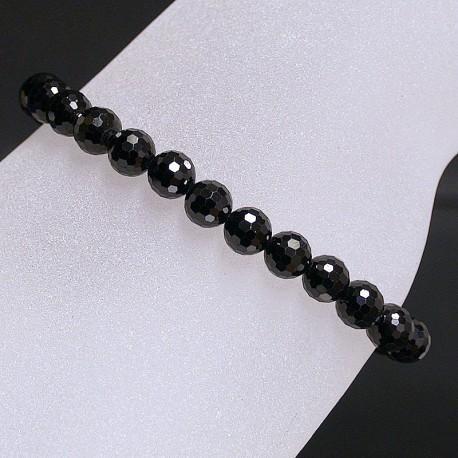 Bracelet Spinelle 4 mm facetté