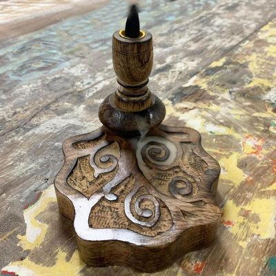 Fontaine à encens bois - Arbre de Vie