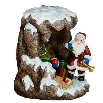 Brûleur d'Encens  à Reflux - La grotte du Père Noel