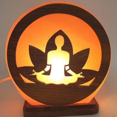 Lampe de sel Himalaya Méditation